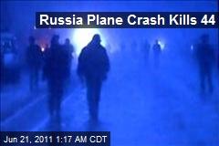 Russia Plane Crash Kills 44