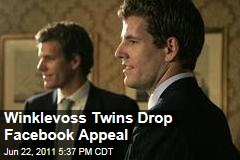 Winklevoss Twins Drop Their Supreme Court Appeal Over Facebook