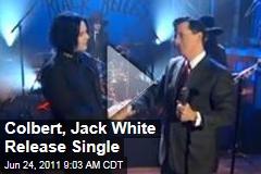 Stephen Colbert, Jack White Release Single, 'Charlene II (I'm Over You)'