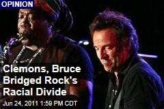 Clarence Clemons and Bruce Springsteen Bridged Rock's Racial Divide