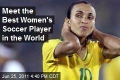 Meet the Best Women's Soccer Player in the World