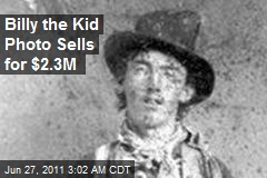 Billy the Kid Photo Sells for $2.3M