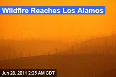 New Mexico Wildfire Reaches Los Alamos