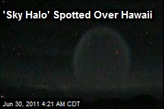 'Sky Halo' Spotted Over Hawaii