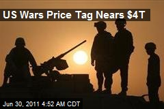 US War Pricetag Nears $4 Trillion