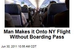 Nigerian Man Olajide Olwaseun Noibi Makes it Onto New York Flight Using Someone Else's Expired Boarding Pass