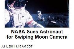 Astronaut Edgar Mitchell being sued by U.S. Govt.