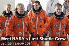 NASA's Final Shuttle Crew Readies for Atlantis' Last Ridew