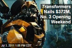 Transformers: Dark of the Moon Nails $372M in Third-Biggest Opening Weekend Ever