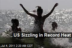 US Sizzling in Record Heat