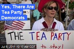Yes, There Are Tea Party Democrats