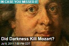 Did Darkness Kill Mozart? Researchers Speculate He Was Low on Vitamin D