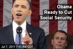 President Ready to Cut Social Security