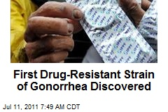 First Drug-Resistant Strain of Gonorrhea Discovered