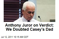 Casey Anthony Jury Foreman: We Were Suspicious of Father George Anthony