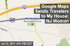 Google Maps Sends State Park Seekers to Private New Jersey Home