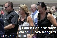 Texas Rangers Fan Who Fell to Death: Family Still Shows Support For Team