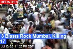 3 Blasts Rock Mumbai