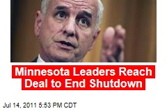 Minnesota Governor, GOP Leaders Reach Deal to End 2-Week Government Shutdown