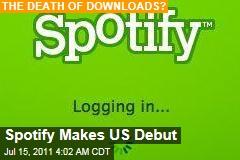 Spotify Digital Music Service Makes US Debut