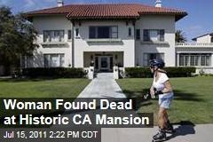Rebecca Nalepa Found Dead at Historic California Spreckels Mansion, Home of Medicis Pharmaceuticals CEO Jonah Shacknai