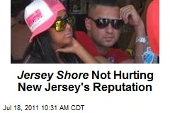 Jersey Shore Not Hurting New Jersey's Reputation