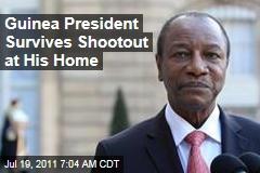 Guinea President Alpha Conde Survives Shootout at His Home
