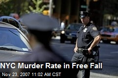 NYC Murder Rate in Free Fall