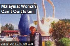 Malaysia: Teapot Cultist Can't Quit Islam