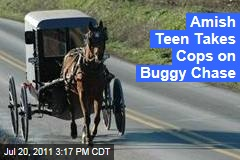 Amish Teen Takes Cops on Buggy Chase