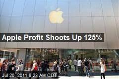 Apple Profit Shoots Up 125%