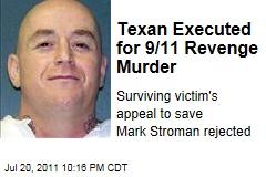 Mark Stroman Executed for 9/11 Revenge Attacks