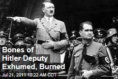 Hitler's Deputy, Rudolf Hess: Bavarian Grave Exhumed, Remains Burned