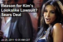 Kim Kardashian's Old Navy Lookalike Lawsuit Aims to Protect Sears Deal