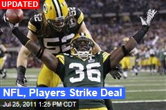 NFL Lockout Looks Over: NFL, Players Strike Deal
