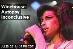 Amy Winehouse Autopsy Inconclusive, More Toxicology Tests Will Take 2-4 Weeks