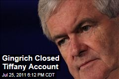 Gingrich Finance Books Opened