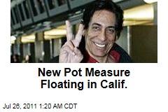 'Regulate Marijuana Like Wine' Measure Circulating in Calif