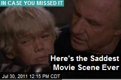 Here's the Saddest Movie Scene Ever