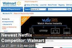 Newest Netflix Competitor: Walmart