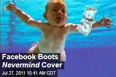 Facebook Boots Nirvana 'Nevermind' Cover Image