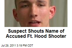 Soldier Who Planned Fort Hood Attack Evokes Name of 2009 Shooter