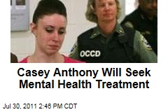 Casey Anthony Will Get Treatment for Mental Health Issues, Reports TMZ