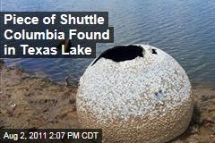Piece of NASA Space Shuttle Columbia Found in Nacogdoches, Texas Lake