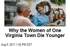 Why the Women of Emporia, Virginia, Die Sooner