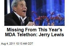 Missing From This Year's Muscular Dystrophy Association Labor Day Telethon: Jerry Lewis