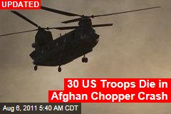 Afghanistan Helicopter Crash: 31 US Special Operations Troops Die as Chinook Downed By Taliban