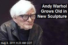 Andy Warhol Grows Old in New Sculpture