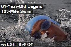 Diana Nyad, 61, Begins 103-Mile Cuba-to-Florida Swim