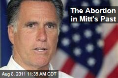 Ann Keenan: The Abortion in Mitt Romney's Past